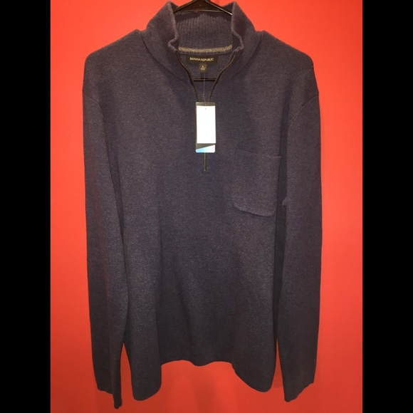 Banana Republic Other - Banana Republic Coolmax Half Zip Pullover Large